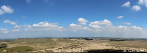Rough Tor, from Brown Willy by Stocker Images