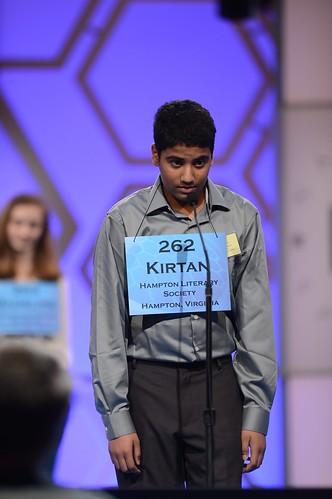 Kirtan Patel, speller 262