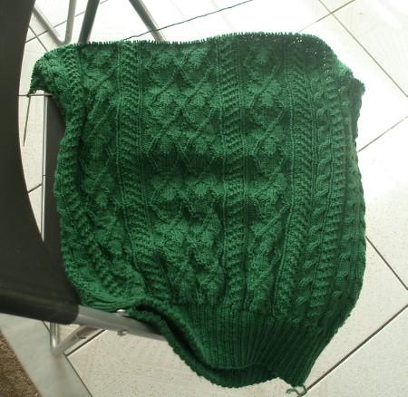 Green arguyle