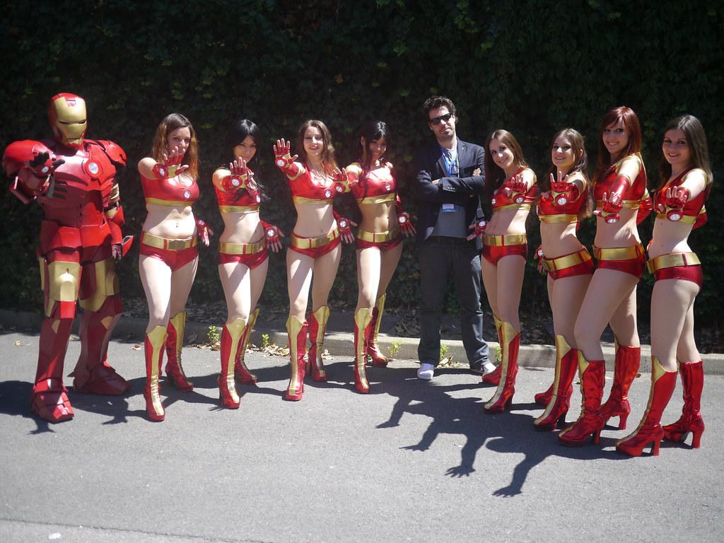 related image - Simon Astier - Iron Man - Ironettes - Japan Expo 2011 - P1210926b