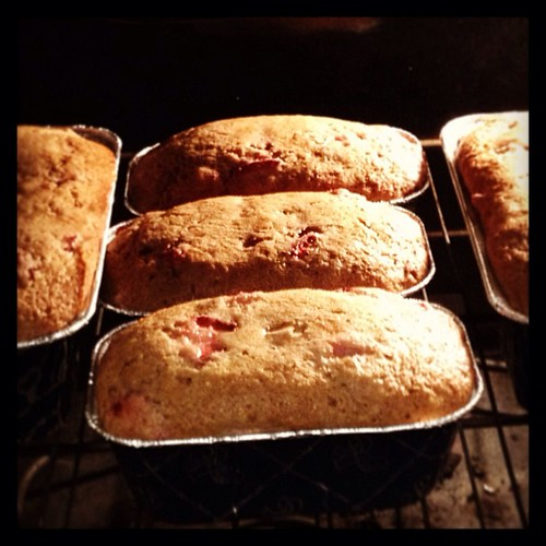 Nothing is real, and nothing to get hung about. Strawberry bread forever!