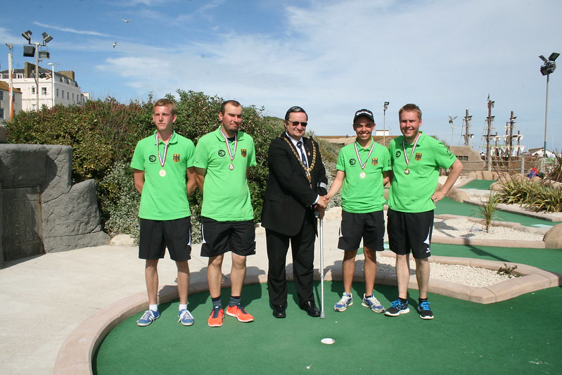 Germany - World Adventure Golf Team Masters champions