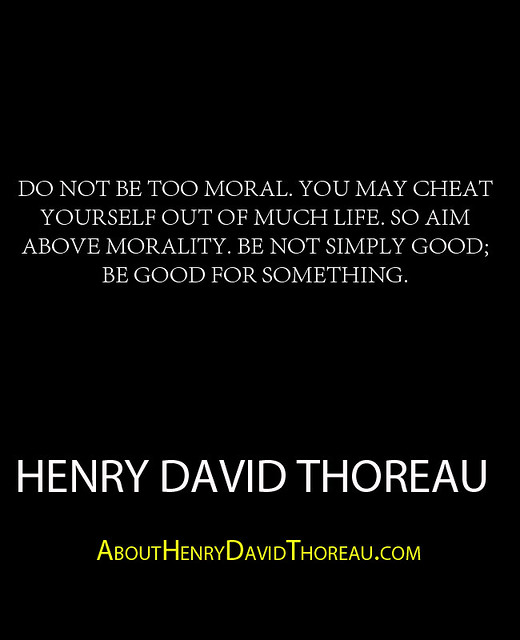 henry david thoreaus views on living simply A comparison of henry david thoreau and ralph waldo emerson's beliefs in addition to living simply a comparison of henry david thoreau and.