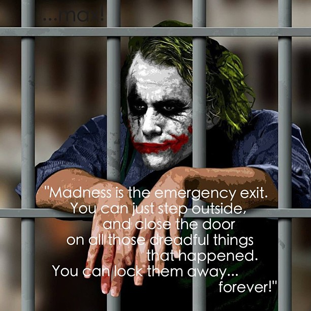 """Orheyn Lay Lay Joker Version Song Download: """"Madness Is The Emergency Exit. You Can Just Step Outside"""