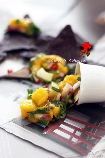 勁辣芒果莎莎醬 Mango Salsa 5