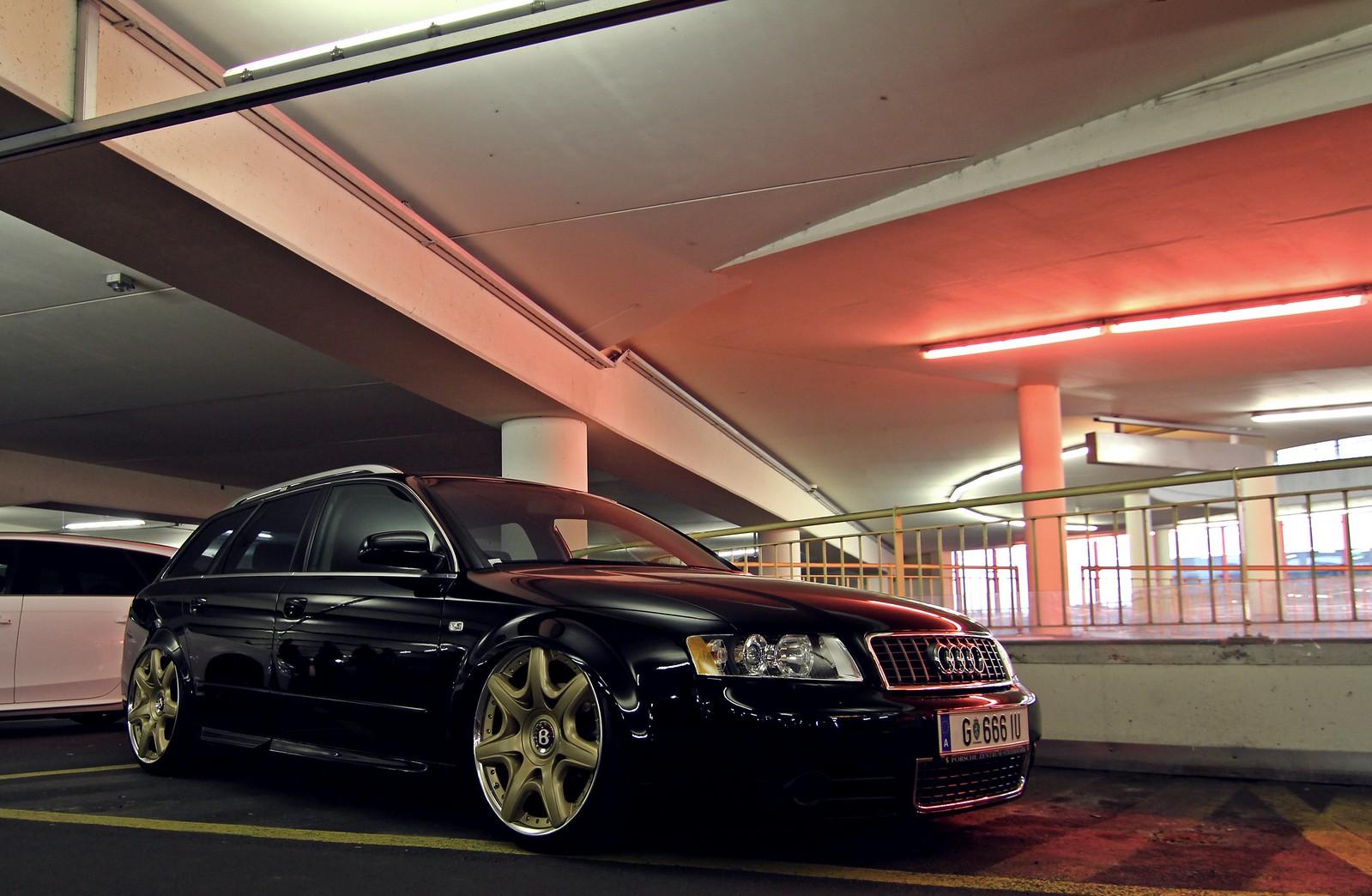 Audi a4 avant airride bentley wheels black schwarz by mycedes via flickr audi pinterest audi a4 audi and wheels