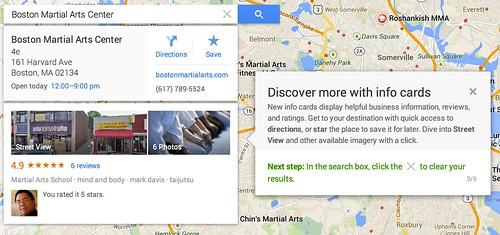 Boston Martial Arts Center - Google Maps