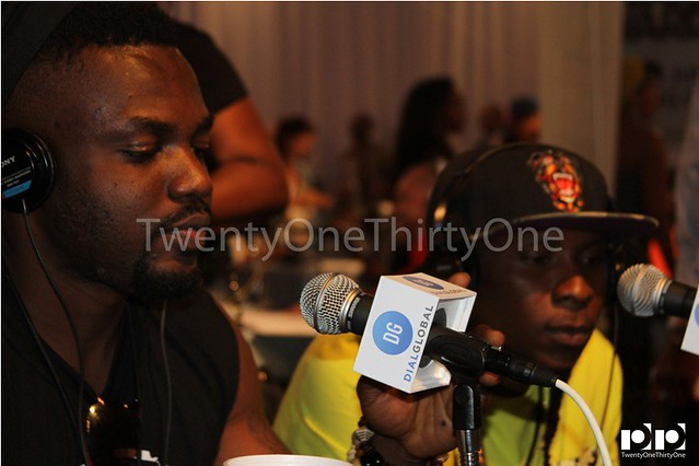 Jay Foley caught up with R2Bees and Ice Prince at BET Awards 2013 (1)
