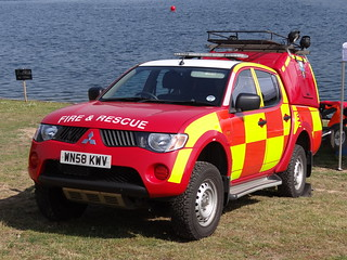 South Yorkshire Fire & Rescue Service Mitsubishi Warrior Water Rescue Unit