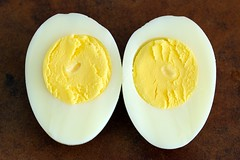8-minute hard boiled egg