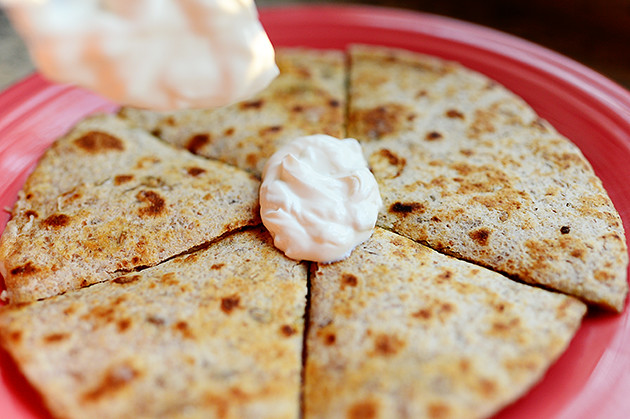 Grilled Jalapeno Quesadillas