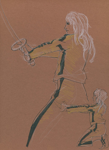 Dr. Sketchy's : Kill Bill : Warmups