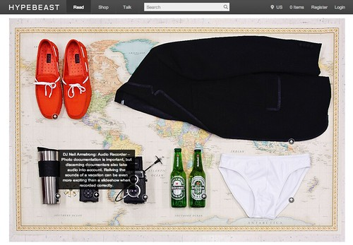 Heineken is putting one of y'all on a voyage , and Hypebeast has your essentials for the trip #DROPPED