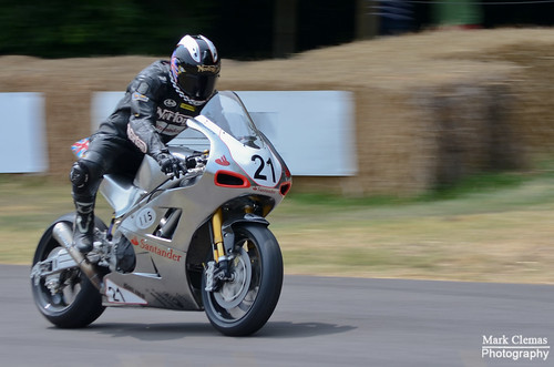 Norton SG2 Motorcycle Goodwood Festival of Speed