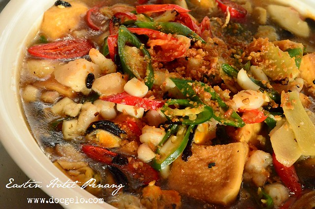 braised beancurd with seafood