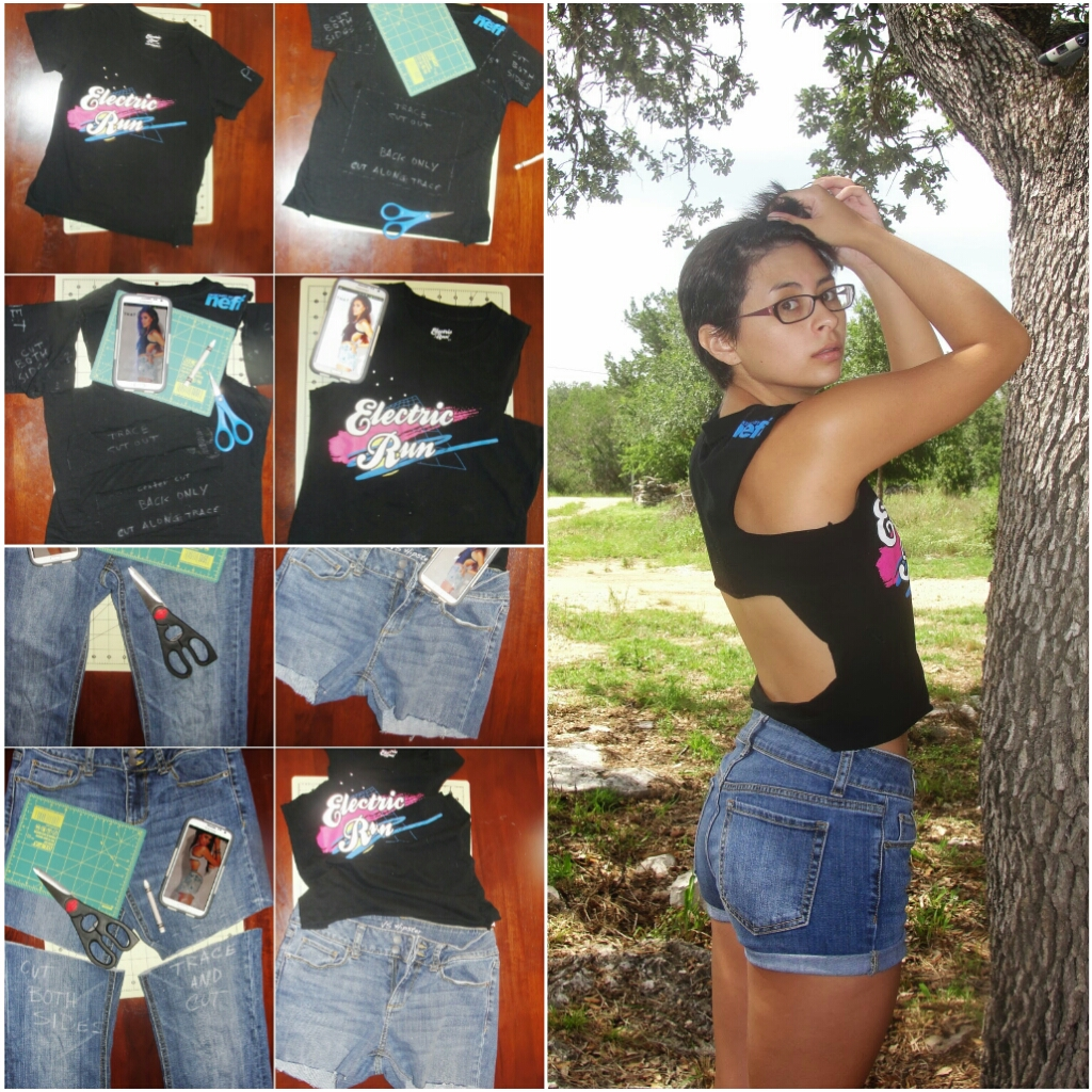Diy Upcycled t Shirt Diy How to no Sew Upcycled