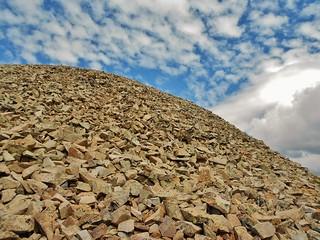 Nearing the Top of Cronin Peak