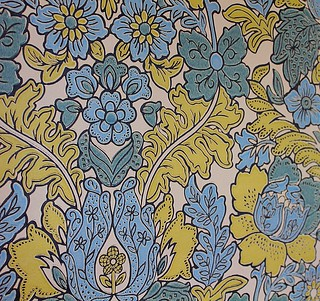 Vintage wallpaper Sweden