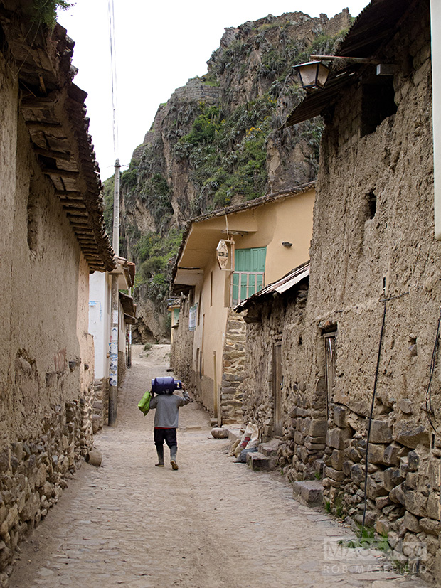 Ollantaytambo - a pretty nice place to wander through.