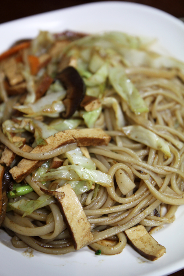 Fried fresh noodles