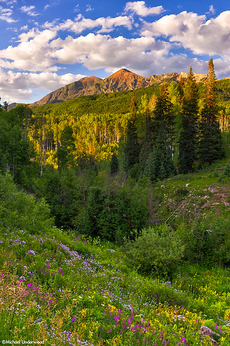 sunset landscape colorado crestedbutte keblerpass rubypeak elkmountains