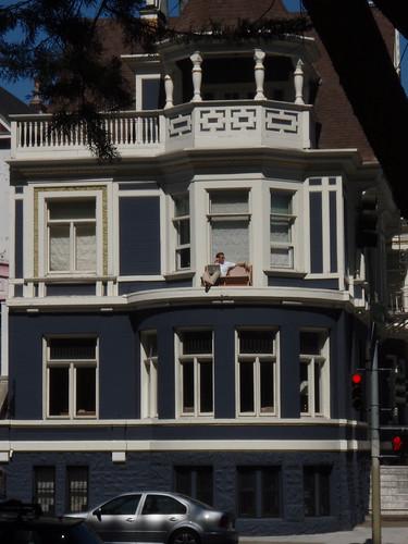 Sunbathing SF style