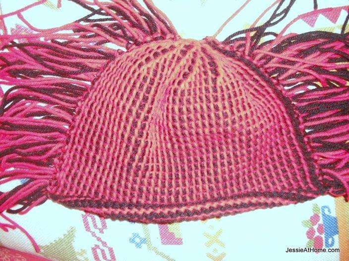 Moe-Tunisian-crochet-hat-tied-together