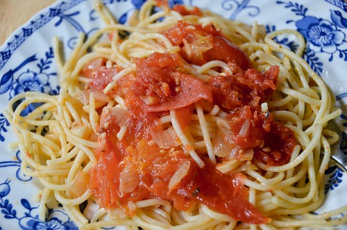 Oil Poached Tomato Sauce