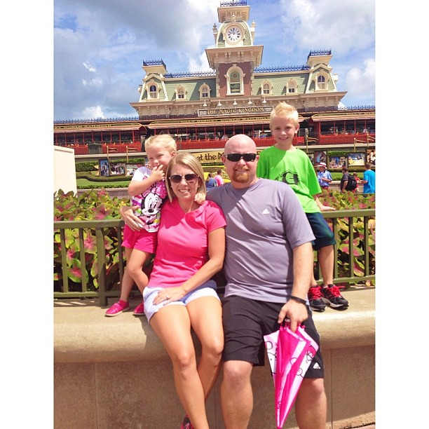 Happy Birthday, Peyton! A surprise day at the happiest place on earth!  @heathpowell #pictapgo_app