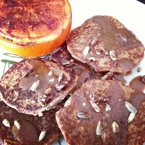 Cauliflower Protein Pancakes