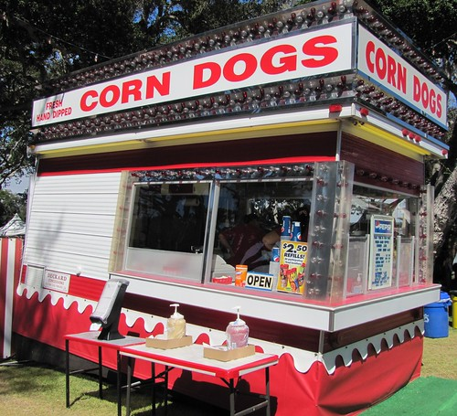 Fresh Corn Dogs at the Monterey County Fair