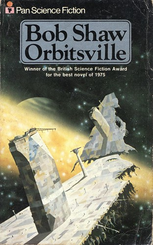 Orbitsville by Bob Shaw. Pan 1977. Cover artist Colin Hay