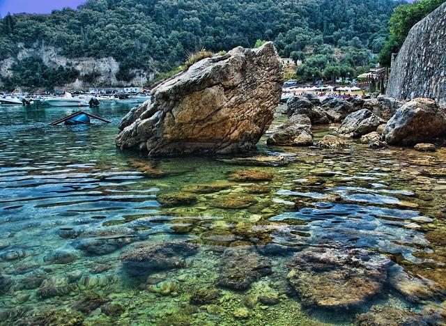 Clear Waters at Palaiokastritsa - Flickr CC Trish Hartmann