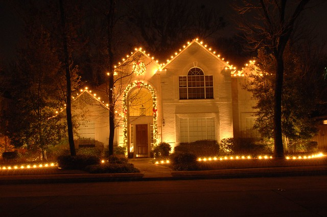 Village Green Christmas Light Installation Portfolio | Flickr - Photo ...