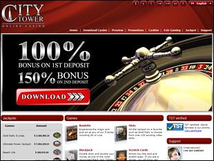 city tower casino no deposit bonus code