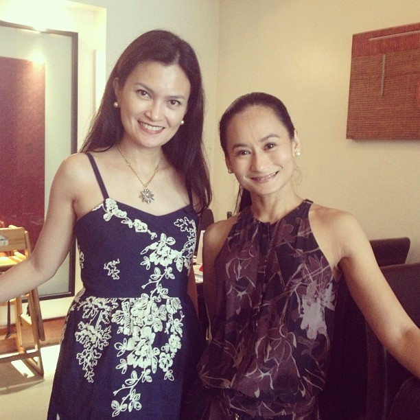 Lunch with the Legend - prima ballerina @lisamacuja. Watch The Legends & The Classics on Oct 12-13 at CCP with Lisa Macuja, Lea Salonga and Cecile Licad.