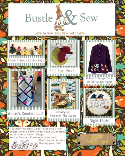 Bustle & Sew Magazine October 2013