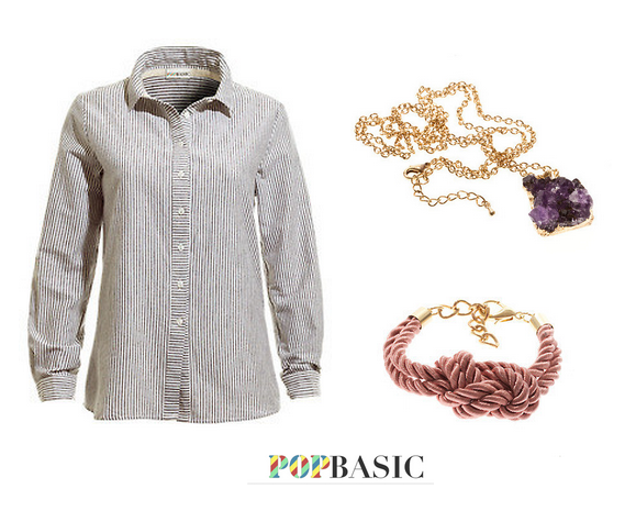 Popbasic, Lost, Microcollection, necklace, bracelet, shirt, review,