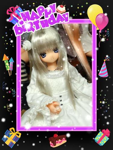 Aika's birthday anniversary <3