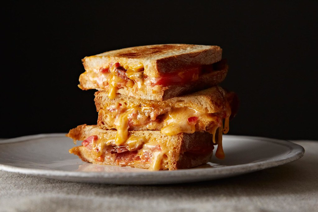 Pimiento Grilled Cheese from Food52