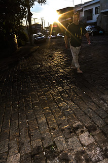 Contra luz/Backlight- O pedestre/the pedestrian