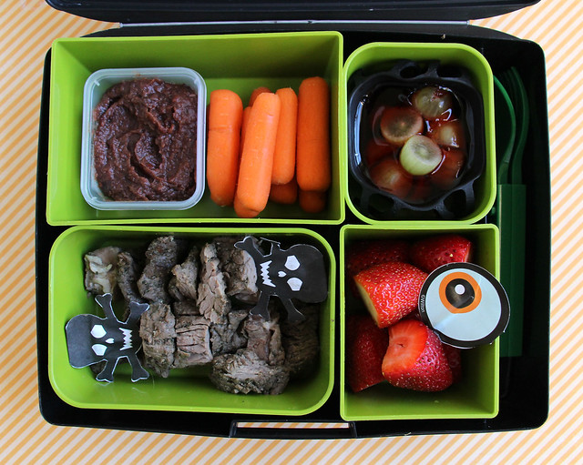 4th Grade Halloween Bento #806