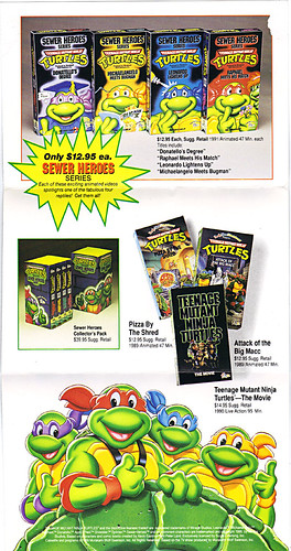 "Family Home Entertainment :: ""THE BEST IN CHILDREN'S ENTERTAINMENT""  promo flyer ii (( 1991 ))"
