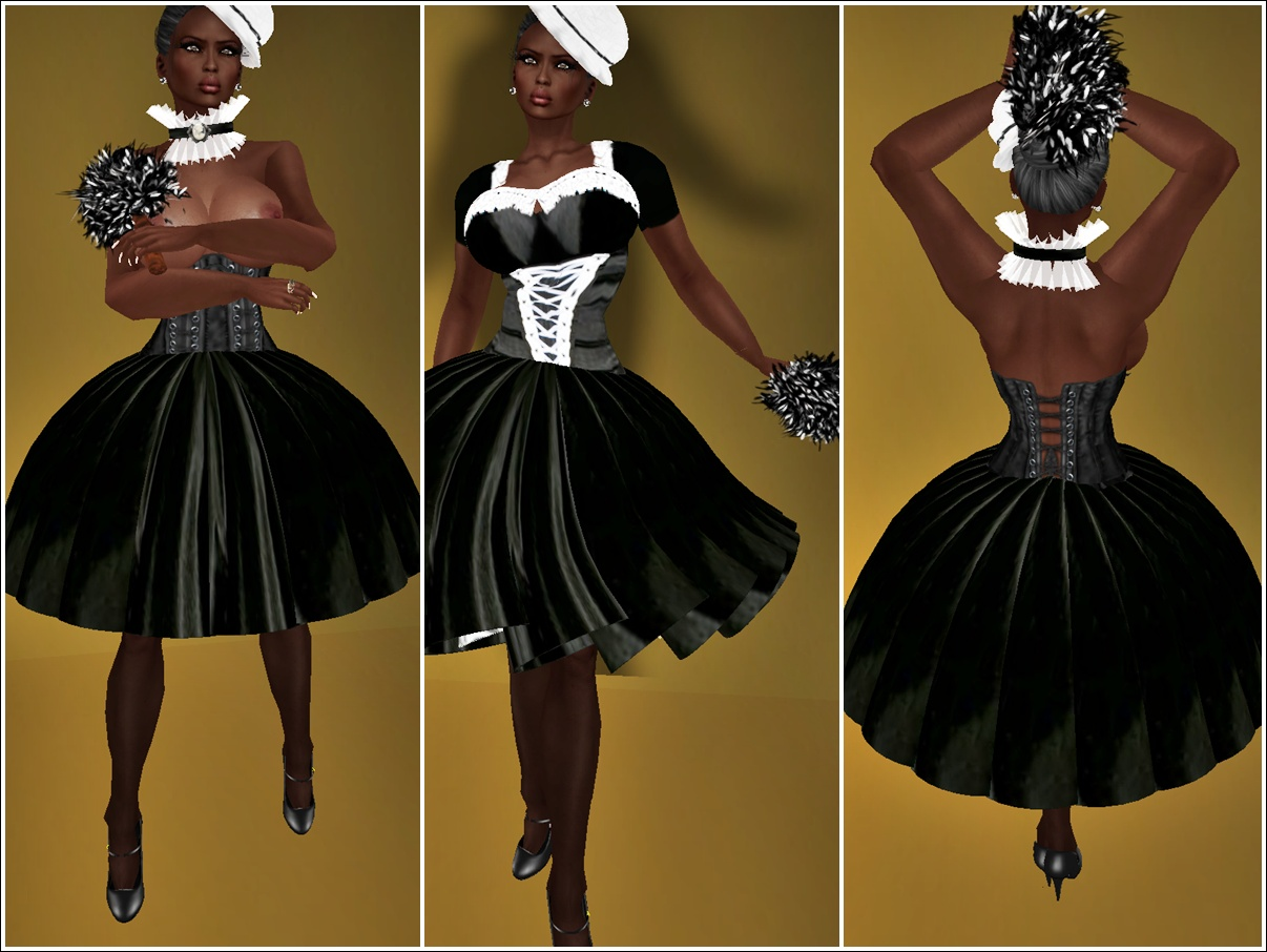 VHD French Maid Costume