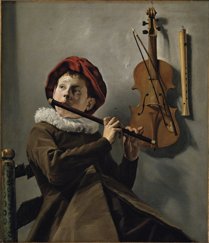 Judith Leyster - Boy playing the Flute (c.1630)