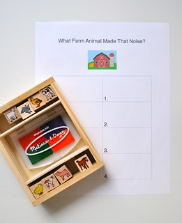 Stamping Activity Farm Animal Sounds