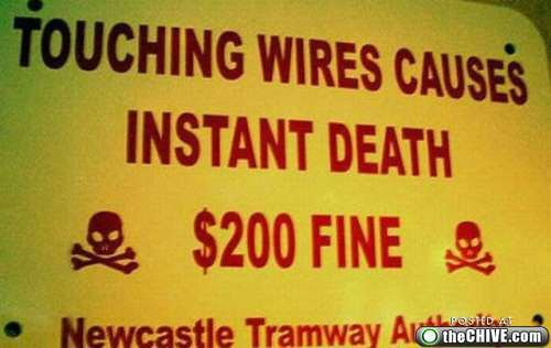 instant death $200 fine