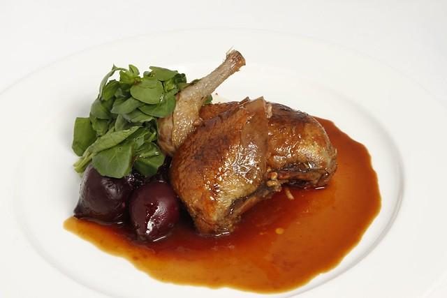 Grouse with beetroot © Royal Opera House Restaurants