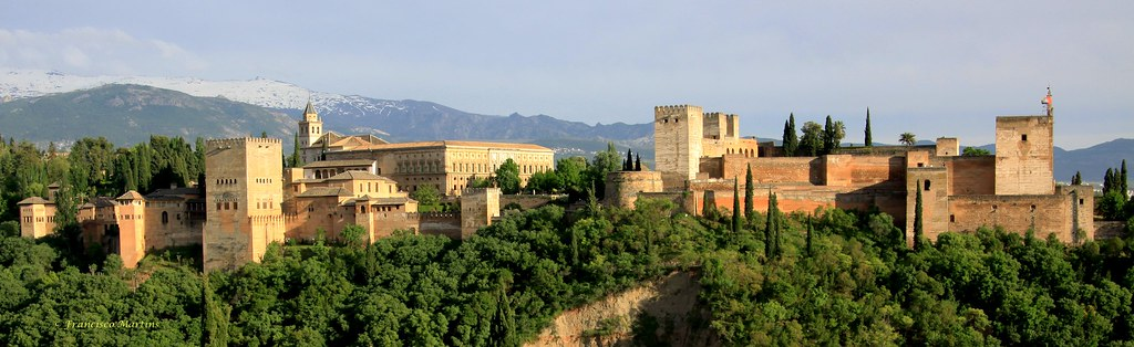 So beautiful, Alhambra Palace image by Francisco Martins, Flickr CC