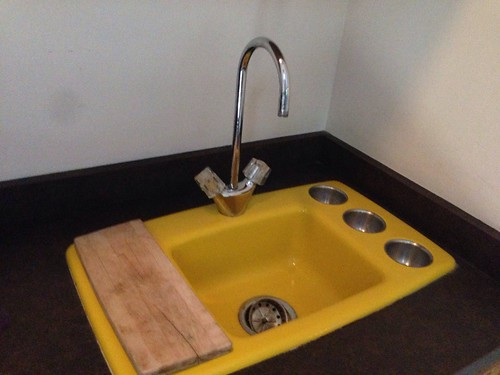 Cool Retro Wet Bar Sink